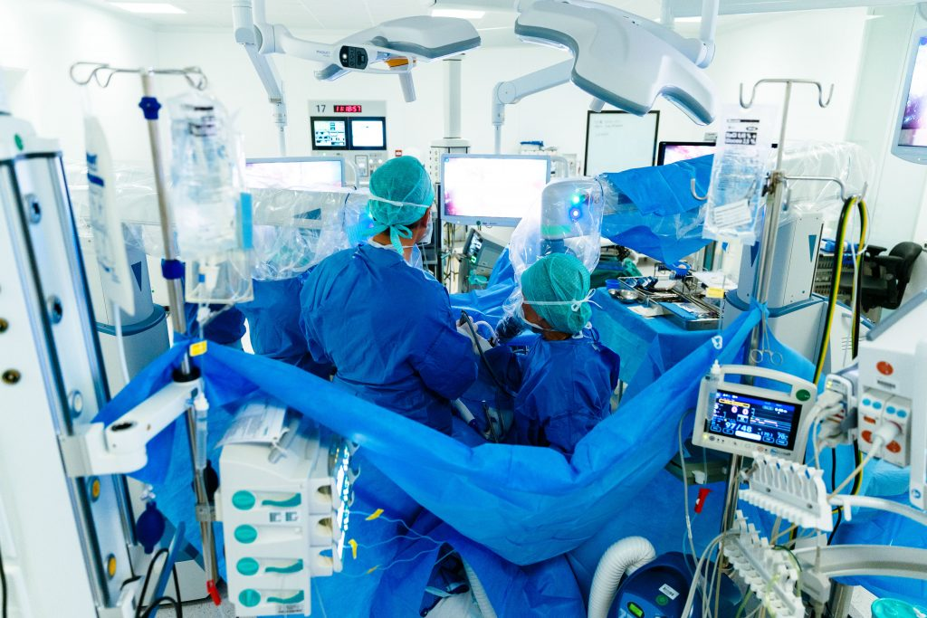 Spoedig herstel na darmkankeroperatie dankzij robot