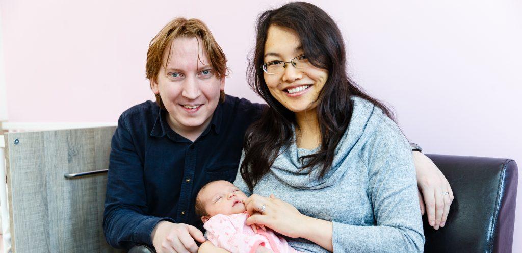 'Het draaien van mijn baby verliep pijnloos en snel'