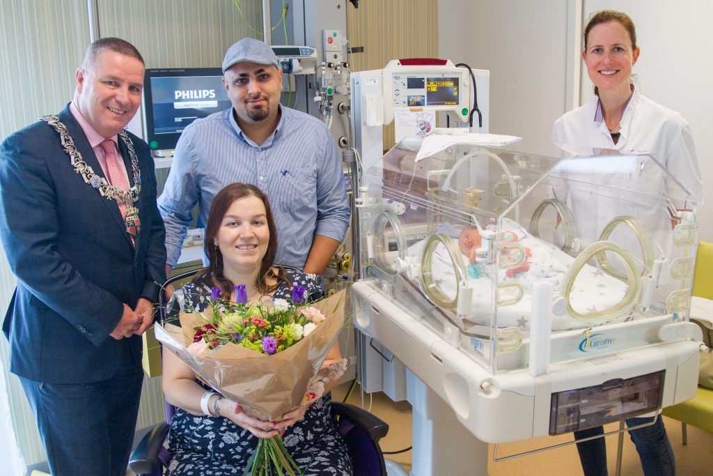10.000ste geboorteaangifte in MMC