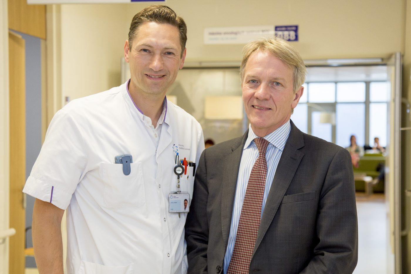 Uroloog Noel Clarke deelt kennis met MMC