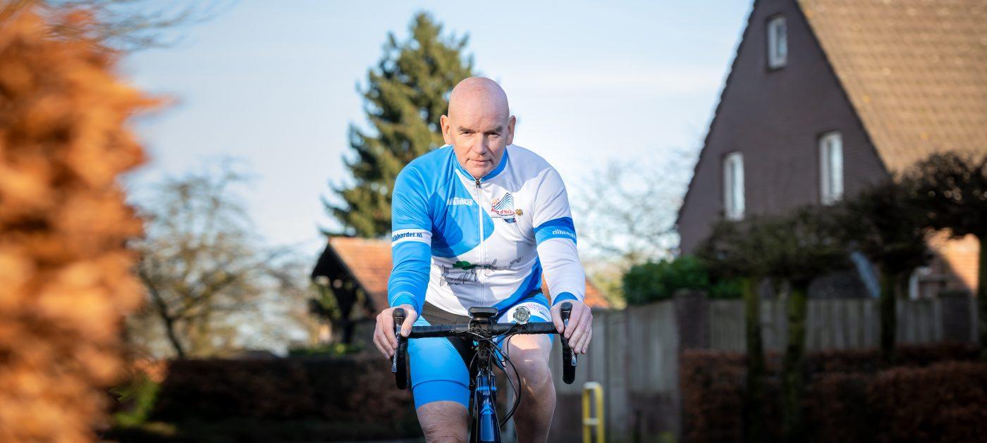 'Samen met mijn arts fiets ik de behandeling tegemoet'