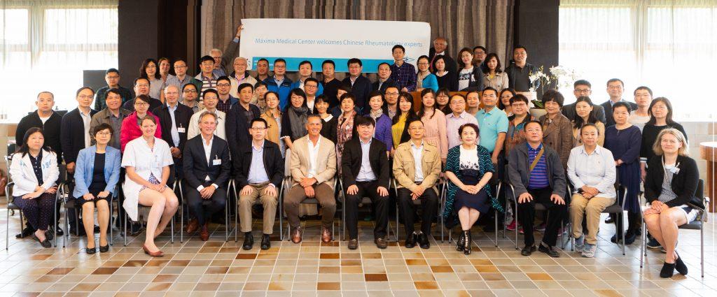 Hoog bezoek Chinese delegatie reumatologen