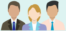 Drie hoogleraren