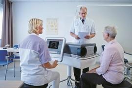 MMC biedt als allereerste pijnloze controle voor artritispatiënten