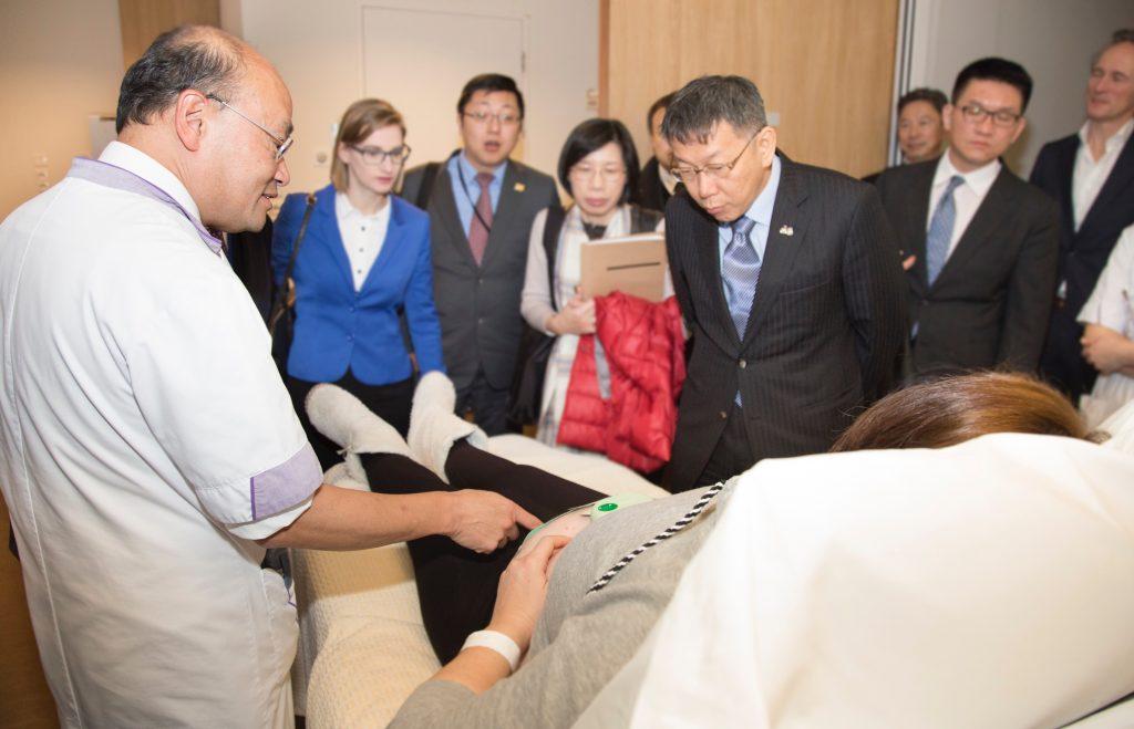 Hoog bezoek uit Taipei voor Máxima Medisch Centrum