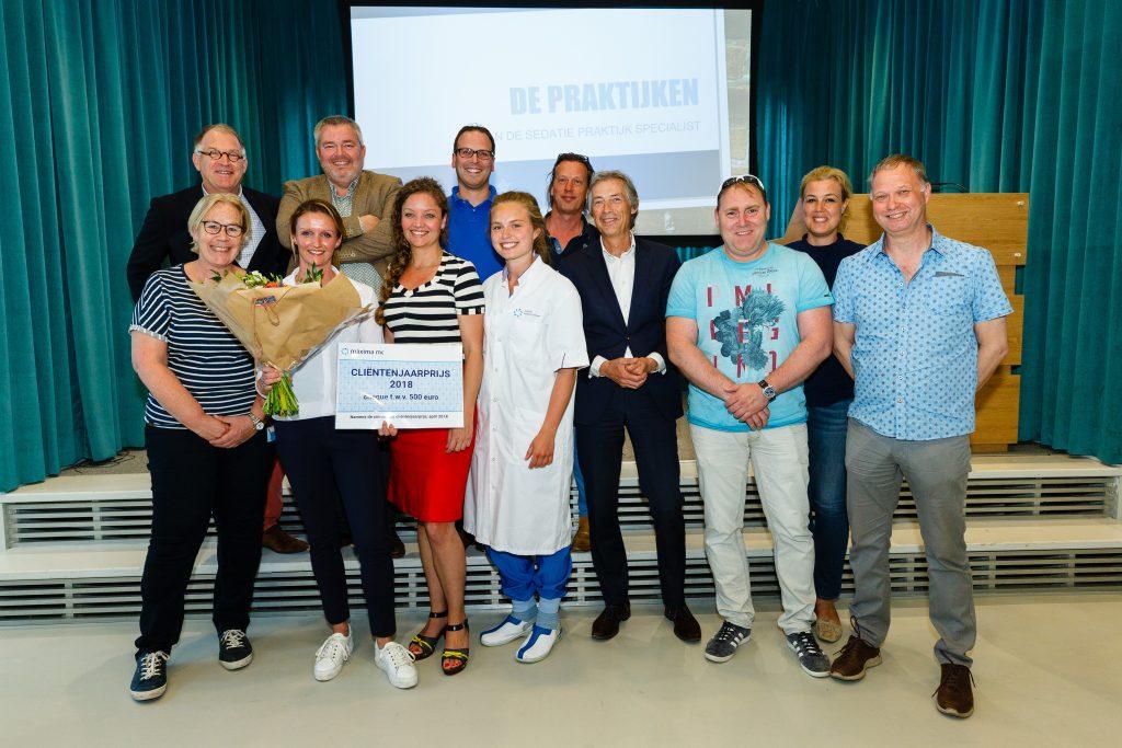 Sedatie praktijk specialisten (SPS) winnen cliëntenjaarprijs