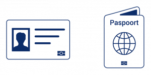 paspoort en identiteitskaart